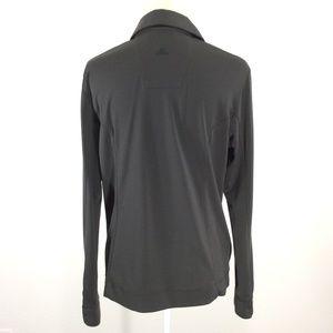 adidas Tops - Adidas Polo Golf Shirt L/S Grey L S419